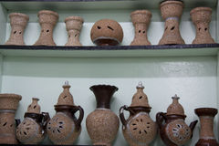 摩洛哥陶瓷产品 库存照片