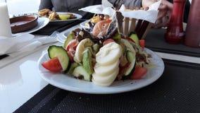 摩洛哥食物 免版税库存照片