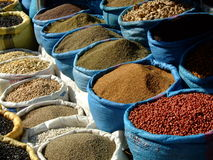 摩洛哥香料 免版税库存图片