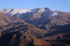 摩洛哥高阿特拉斯山脉 库存照片
