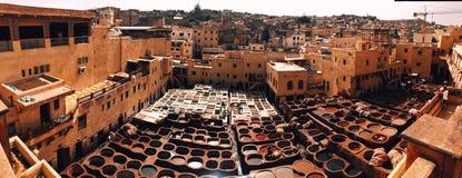 摩洛哥 秀丽附近 独特的框架 无刺指甲花的手工生产 库存图片