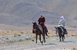 摩洛哥4个的巴巴里人 库存图片