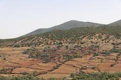 摩洛哥n路tichka tizi 免版税库存图片