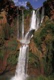 摩洛哥ouzoud瀑布 免版税库存照片