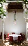 摩洛哥riad 库存图片