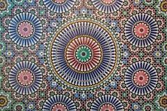 摩洛哥tilework 免版税库存照片