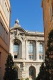 摩纳哥博物馆海洋学 免版税库存图片