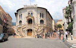 摩纳哥法院大楼 免版税库存图片