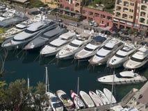 摩纳哥港口 库存图片