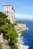 摩纳哥的海洋学博物馆 免版税图库摄影
