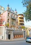 摩纳哥的著名别墅 图库摄影