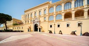 摩纳哥的Palace王子的 免版税库存图片
