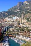 摩纳哥视图 库存照片