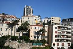 摩纳哥视图 免版税图库摄影