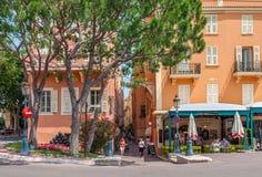 摩纳哥都市视图 库存图片