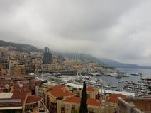 摩纳哥都市风景 免版税库存照片