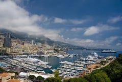 摩纳哥风景 免版税库存照片