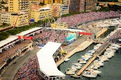 摩纳哥GP 2012年 库存照片