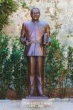 摩纳哥,法国, 2016年6月04日:Rainier王子雕象III摩纳哥 库存图片