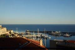 摩纳哥,看法 免版税图库摄影