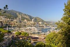 摩纳哥-城市视图 免版税图库摄影