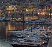 摩纳哥-法国海滨 图库摄影