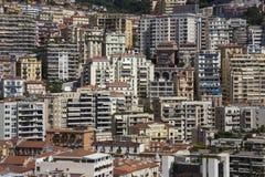 摩纳哥-法国海滨 免版税图库摄影
