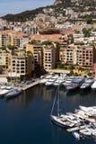 摩纳哥-法国海滨的公国 免版税图库摄影