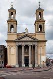 摩西和亚伦教会在阿姆斯特丹 免版税库存图片