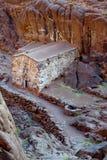 从摩西山的下降  库存照片