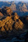 从摩西山的下降  免版税库存图片
