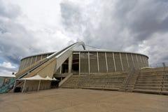摩西・马布海达体育场台阶和曲拱 库存照片