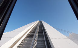 摩西・马布海达体育场曲拱 库存照片