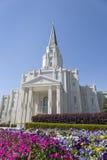 休斯敦得克萨斯寺庙在休斯敦,得克萨斯 图库摄影