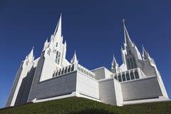 摩门教堂-圣地亚哥加利福尼亚寺庙 免版税库存照片