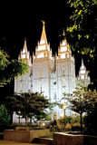 摩门教堂 库存照片
