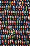摩洛哥人穿上鞋子纪念品 免版税库存图片
