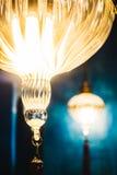 摩洛哥光灯笼 库存图片