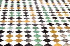 摩洛哥地板马赛克 库存照片