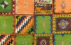 摩洛哥地毯背景 库存图片