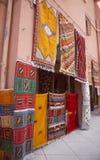 摩洛哥地毯 库存照片