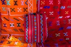 摩洛哥地毯 免版税库存照片