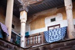 摩洛哥房子庭院  库存照片