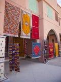 摩洛哥手工制造地毯 库存照片