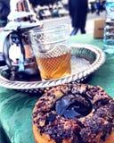 从摩洛哥拉巴特的茶 图库摄影