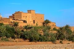 摩洛哥村庄 免版税库存照片