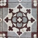 摩洛哥样式装饰瓦片 库存图片