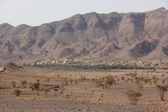 摩洛哥横向 免版税库存图片