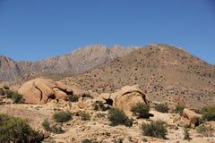 摩洛哥横向 免版税图库摄影
