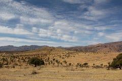 摩洛哥横向 免版税库存照片